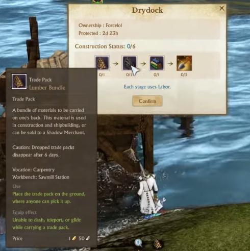 ArcheAge Drydock